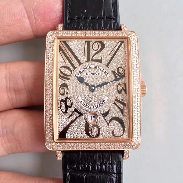 精仿法兰克穆勒手表1:1 精仿复刻法穆兰 玫瑰金版 男士机械表