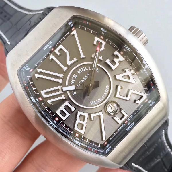 法兰克穆勒腕表精仿 高仿法穆兰最新款Vanguard腕表 V45系列  男士机械表