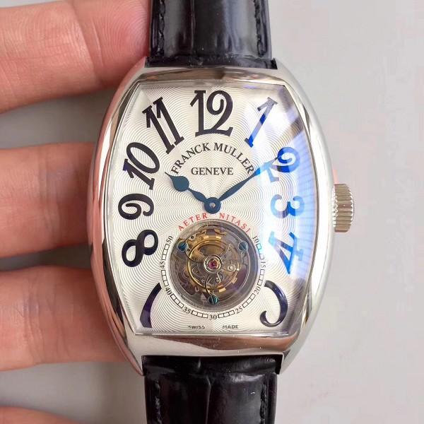 法兰克穆勒腕表精仿 精仿法兰穆顶级俱乐部8880系列陀飞轮腕表