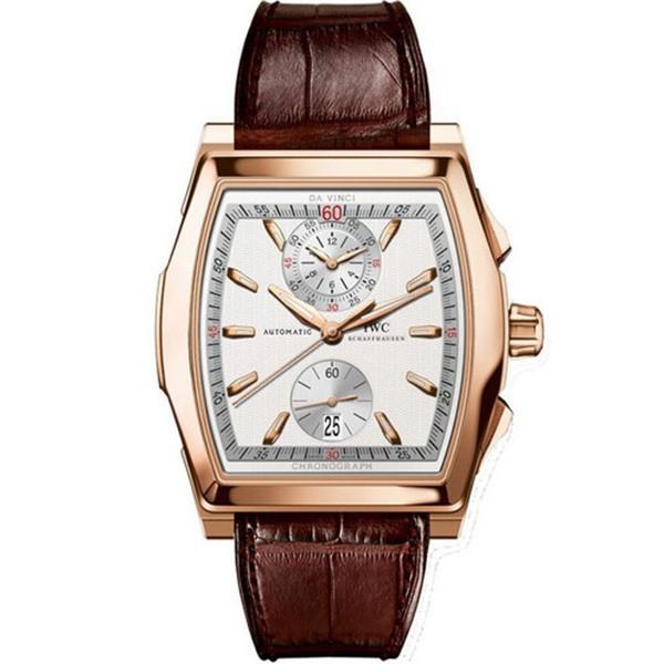 万国达文西系列 高仿复刻万国达文西系列IW376411 18K玫瑰金 男士手表