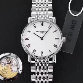 百达翡丽仿表 高仿百达翡丽古典表系列5120/1G-001 白金腕表