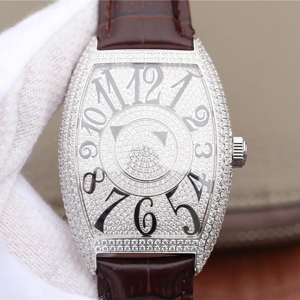高仿手表法穆兰 高仿法兰克穆勒(法穆兰)神秘时间系列7850款 男士腕表