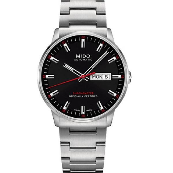精仿美度手表图片 精仿复刻美度指挥官系列M021.431.11.051.00 男士机械表