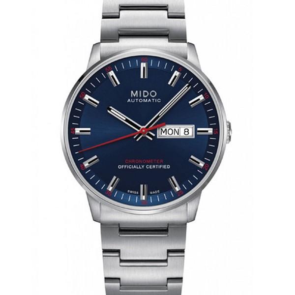 高仿美度男表 高仿复刻美度指挥官系列M021.431.11.041.00 蓝盘男士机械表