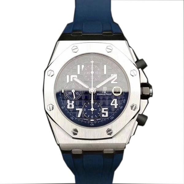 高仿爱彼皇家橡树 高仿爱彼皇家橡树系列蓝盘腕表 男士机械表