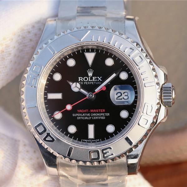 仿劳力士手表高仿 高仿复刻劳力士超级游艇名士系列116622男士腕表