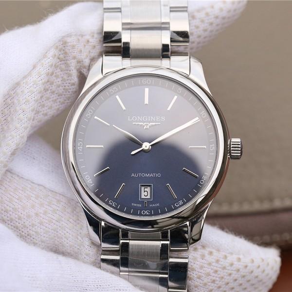 精仿浪琴机械表 高仿复刻浪琴名匠系列L2.628.4.97.6 男士机械手表