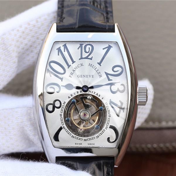 复刻法兰穆陀飞轮表 高仿法兰克穆勒8880真陀飞轮白面 男士机械手表