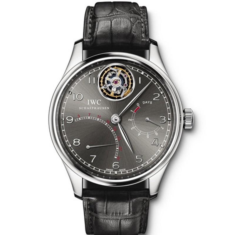 精仿万国 精仿复刻万国葡萄牙陀飞轮逆返系列 男士手表