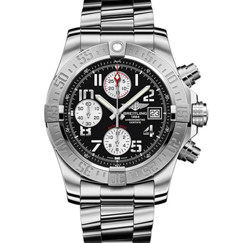 高仿百年灵手表 高仿百年灵复仇者系列A1338111/BC33/170A计时腕表二代 男机械腕表