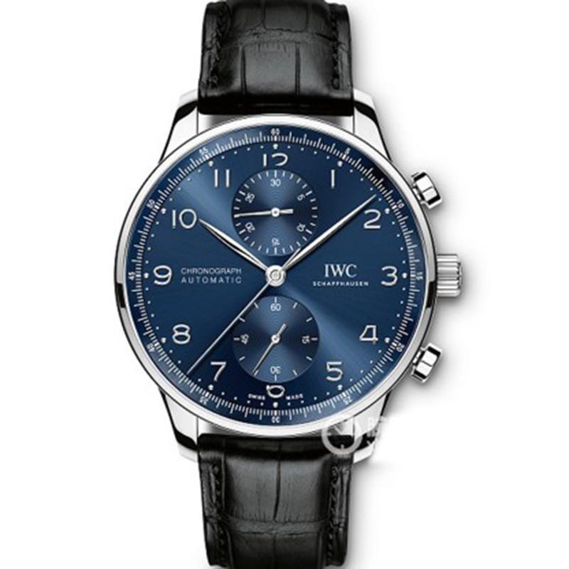 YL厂仿万国男表 高仿复刻万国V7版本蓝面葡计上市 男士机械腕表
