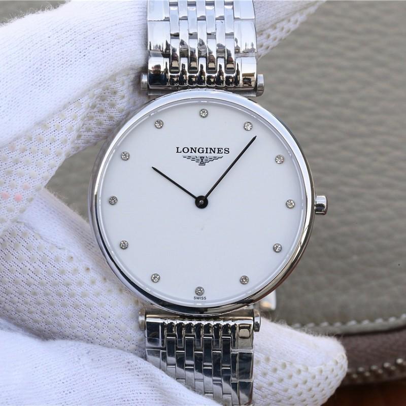JF厂浪琴精仿表 高仿复刻浪琴优雅嘉岚系列L4.766腕表 情侣手表