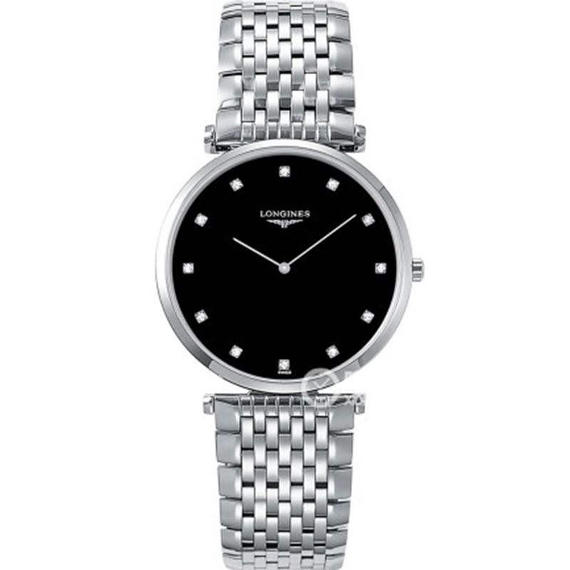 JF厂浪琴手表精仿 高仿复刻浪琴优雅嘉岚系列L4.755.4.58.6腕表 情侣手表