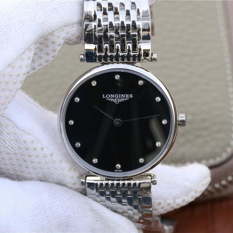 JF厂浪琴情侣表女款 高仿复刻浪琴优雅嘉岚系列L4.709腕表 情侣手表