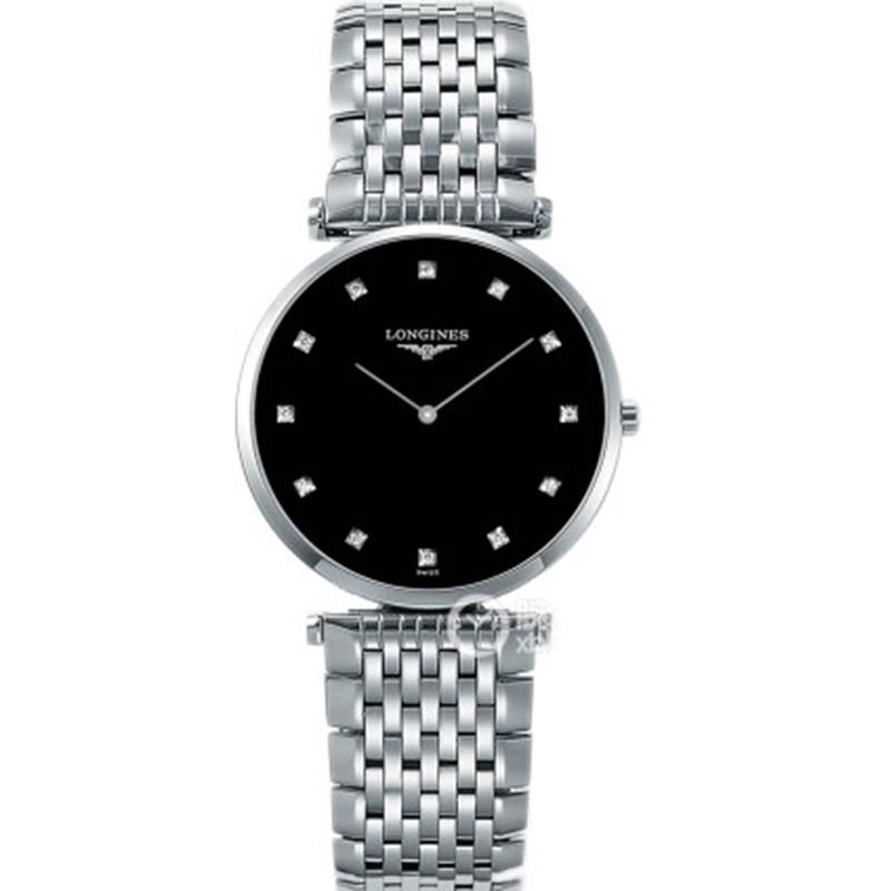JF厂浪琴女石英表 精仿复刻浪琴优雅嘉岚系列L4.209.4.58.6腕表 情侣手表