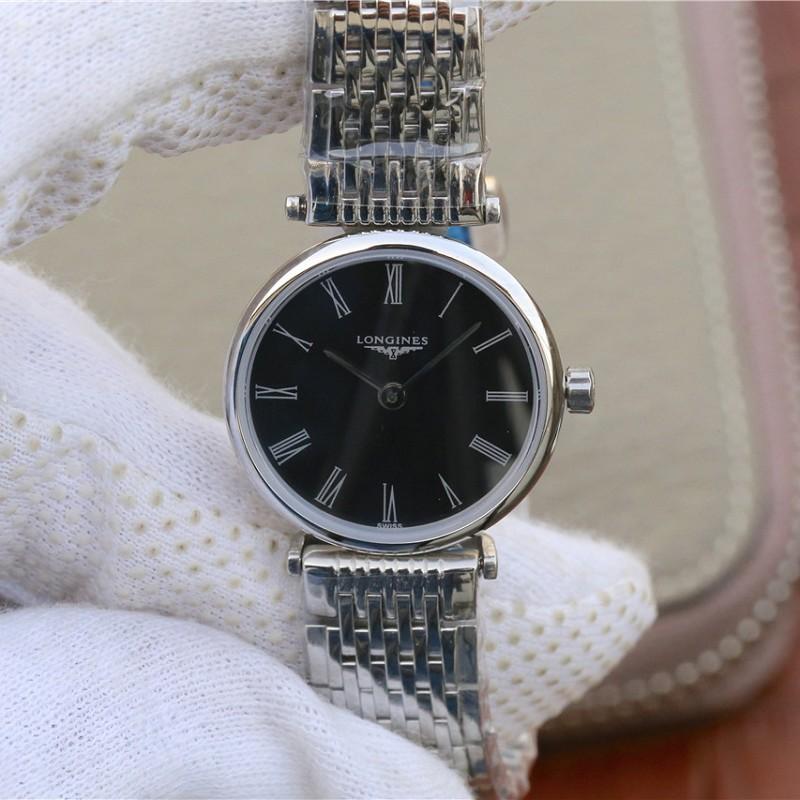 JF厂一比一高仿浪琴 高仿复刻浪琴优雅嘉岚系列L4.209 情侣手表