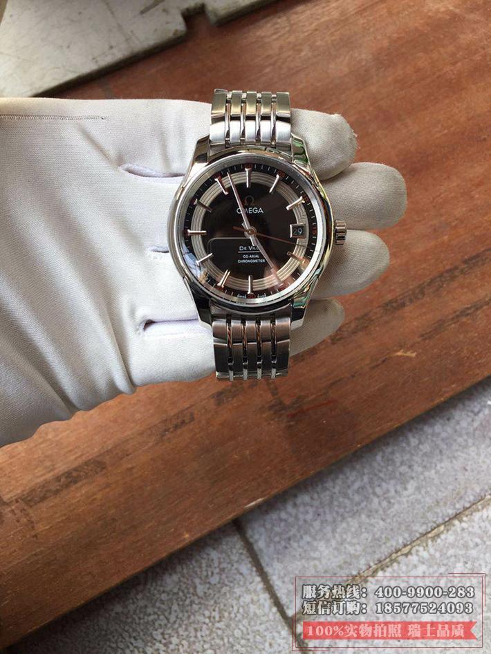 【欧米茄431.30.41.21.01.001】一比一高精仿欧米茄蝶飞系列HOUR VISION腕表系列431.30.41.21.01.001 钢带 男士透底自动机械手表