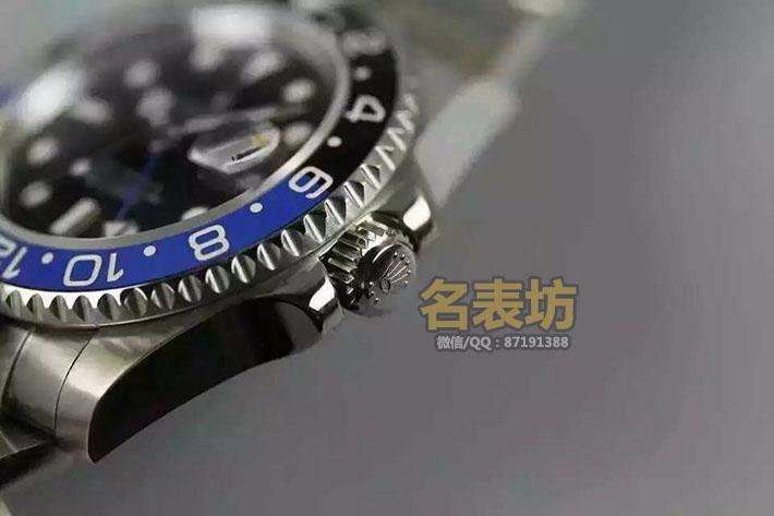 劳力士(ROLEX)蚝式恒动 格林尼治型 II 116710BLNR系列 双时区 男士自动机械运动表 蓝宝石镜面 高端男士腕表