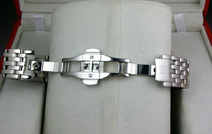 欧米茄手表 蝶飞系列典雅 424.10.37.20.02.001 自动机械透底超薄商务男表 原装ETA2824机芯 香港组装
