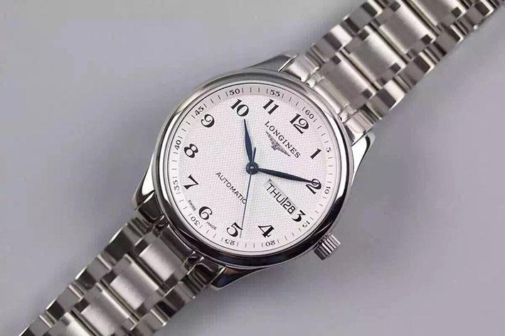 【爆款专供】浪琴(Longines)名匠系列L2.755.4.78.6 版 钢带皮带通用  男士自动机械表手表 高端腕表