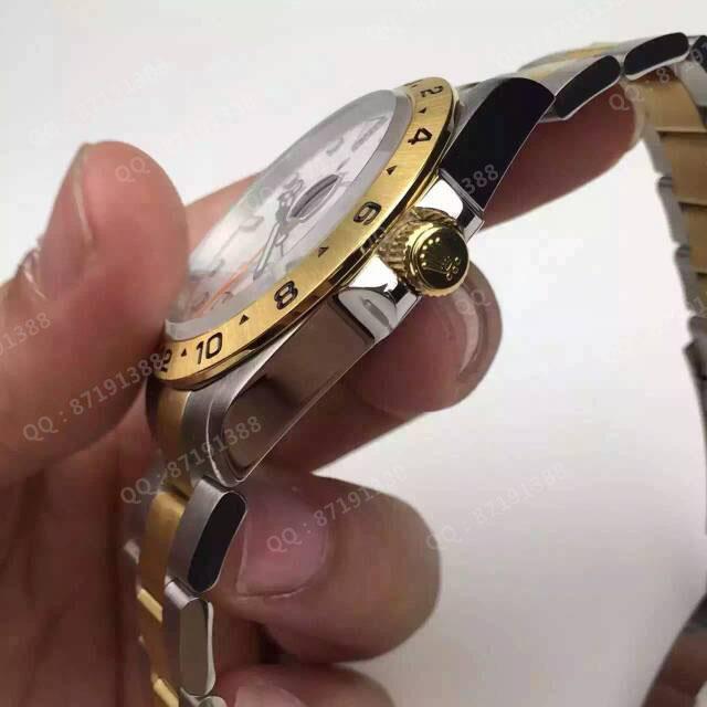 劳力士(ROLEX)探险家型II系列双时区 216570-77210白 机械男表男士自动机械表手表 高端男士腕表