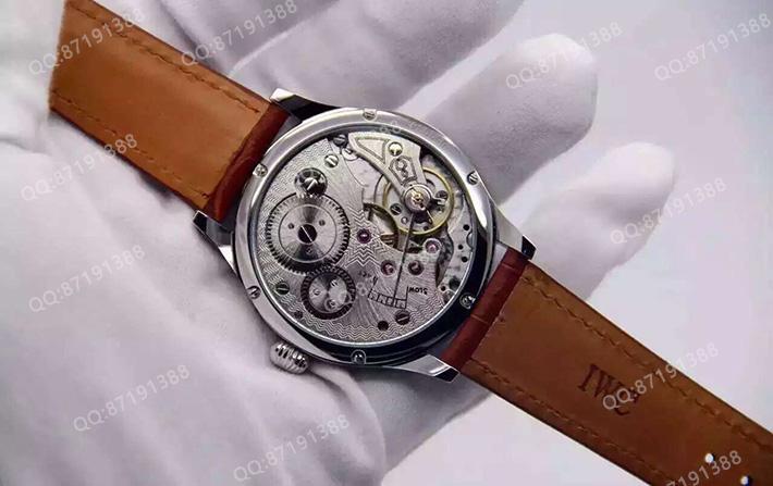 IWC 万国 Portuguese Chronograph 葡萄牙计时IW544202 手动上链机械男表 琼斯限量版
