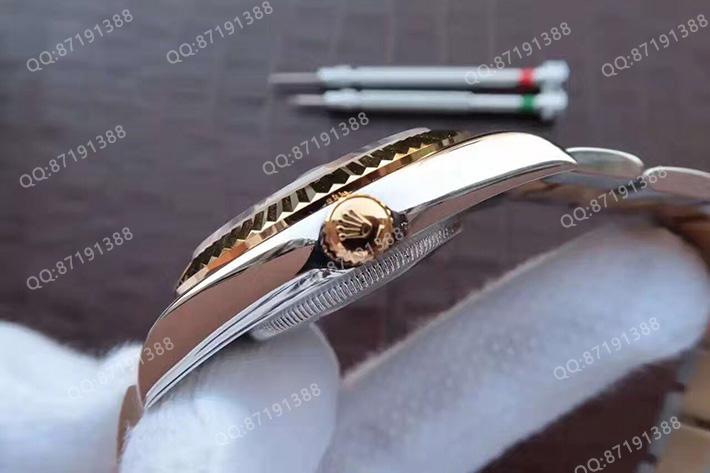 劳力士126333-0011香槟色面钻标男表
