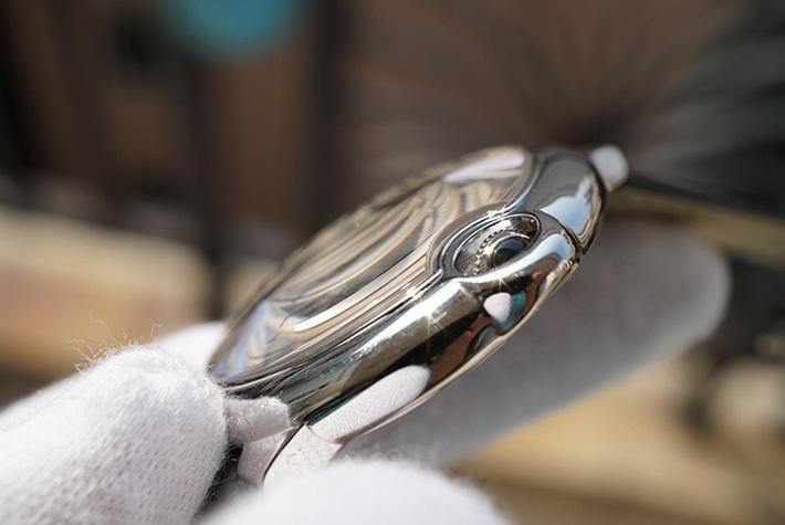 瑞士卡地亚Cartier 蓝气球系列W69016Z4 全自动机械大号款男士手表 男女对表 情侣手表 瑞士机芯(均一块价格)