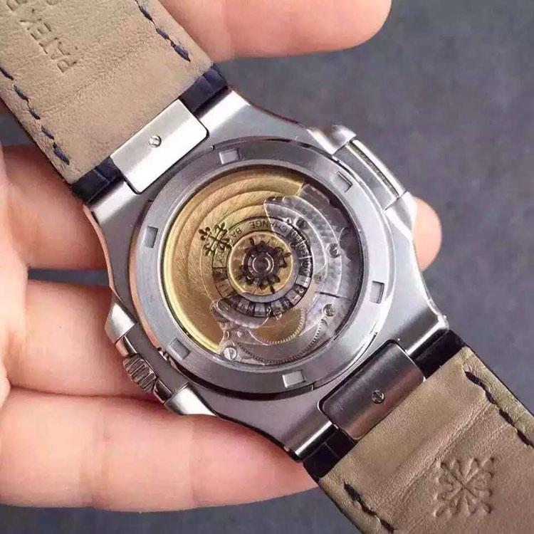 百达翡丽Nautilus Joaillerie休闲版三针瑞士机械腕表