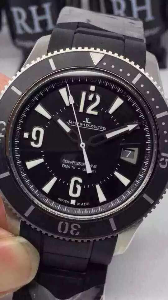 积家手表全陶瓷面瑞士机芯男表