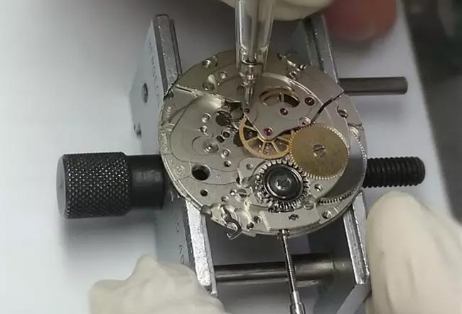 机芯钻分布