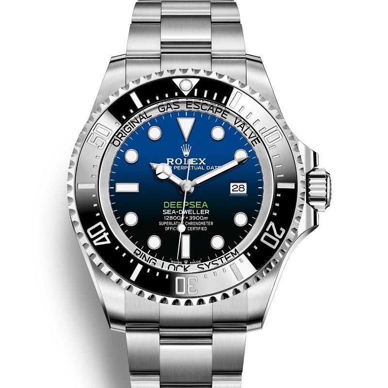 复刻表劳力士渐变鬼王v10价格 n厂手表v10劳力士渐变蓝水鬼王 126660